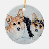 Corgi Christmas Christmas Ornament