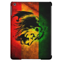 Cori Reith Rasta reggae lion iPad Air Cases