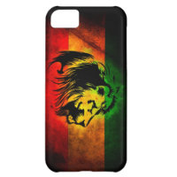 Cori Reith Rasta reggae lion iPhone 5C Cases