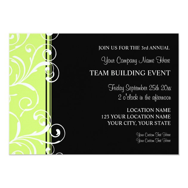 Corporate Save Date Cards