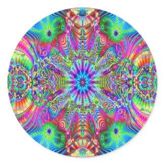 Cosmic Creatrip - Psychedelic Sticker sticker