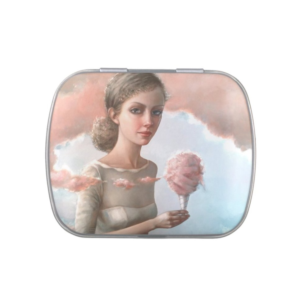 Cotton Candy Clouds Candy Tin