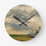 Country_Air Round Clock
