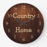 Country Home Kitchen Clock