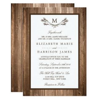 Farm Wedding Invitation Cards