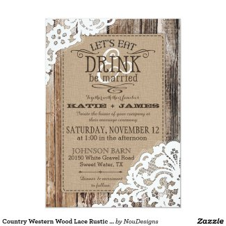 2 Comments On Rustic Barn Wedding Invitations