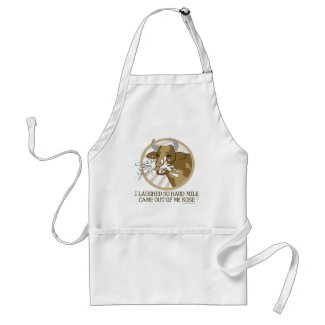 Cow Milk Out My Nose Adult Apron