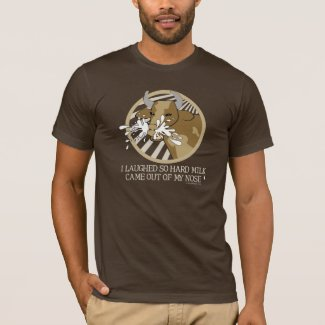Cow Milk Out My Nose T-Shirt