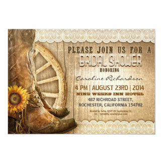 Best Rustic Country Bridal Shower Products On Wanelo Invitations