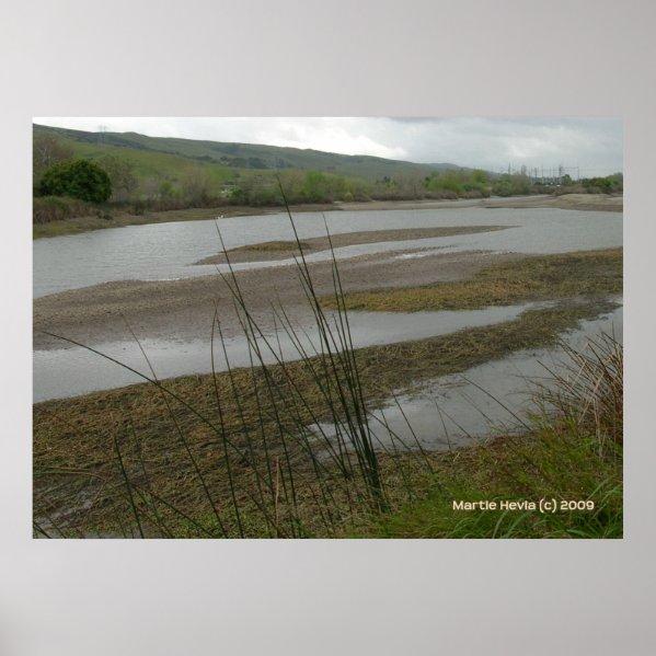 Coyote Creek Rainy Day print