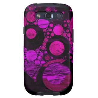 Crazy Abstract metal textured Galaxy S3 Cover