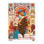 ❤️ Crazy Art Nouveau French victorian illustration Postcard