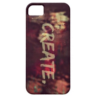 Create - iPhone 5/5s Cover
