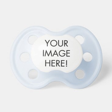 Create your own Blue pacis Pacifier