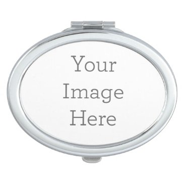 Create Your Own Compact Mirror - Oval