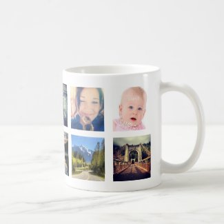 Create Your OWN custom instagram photo Classic White Coffee Mug