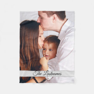 Create Your Own Personalized Photo Fleece Blanket