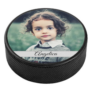 Create Your Own Photo Hockey Puck