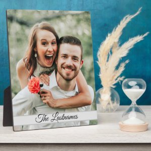 Create Your Own Photo Plaque