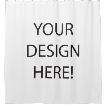 Create your own Shower Curtains! Shower Curtain
