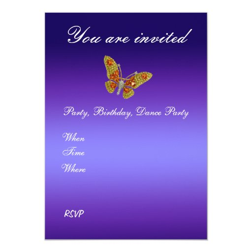 Customize Your Invitations