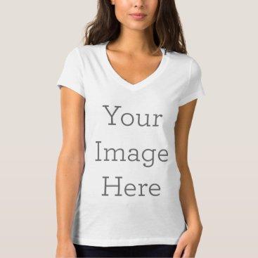 Create Your Own Women's V-Neck T-Shirt