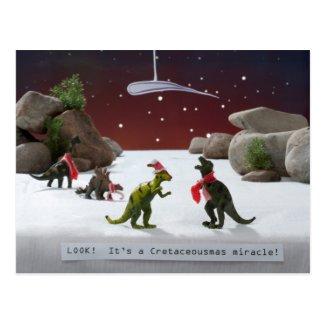 Cretaceousmas Miracle Post Cards