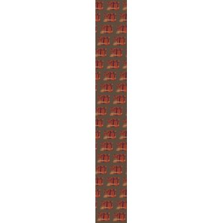 CricketDiane Art Products - Castles & Flowers tie
