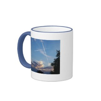 Cross at Sunset Mug mug