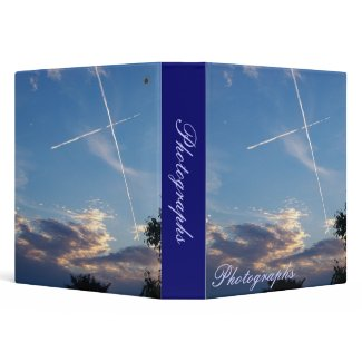 Cross at Sunset Photo Binder binder