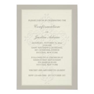 Purple Green Pink Fl Swirls With Watermark Monogram Wedding Invitations