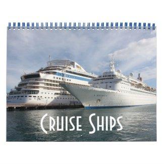 Cruise Ships Calendars