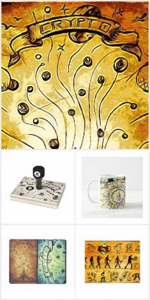 'CryptoMagic' Art & Items