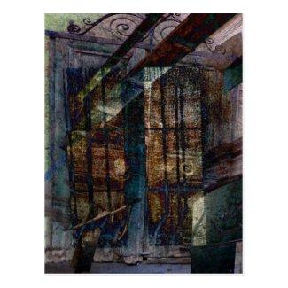 Cubist Shutters, Doors & Windows Post Card