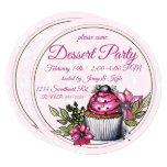 Cupcake Dessert Party Invitation