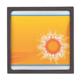 Curly Sunshine Customizable Design Premium Keepsake Box