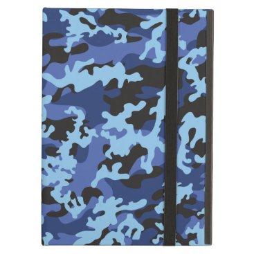 Custom Blue Camo Powis iCase iPad Case