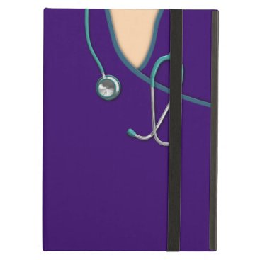 Custom Color Medical Scrubs iPad Air Cover