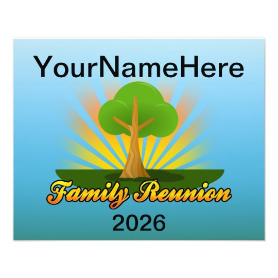 Reunion Family Logos Tree