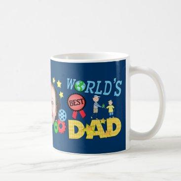 Custom Father's Day Best Dad Photo Mug