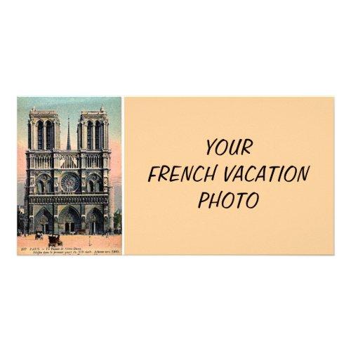 Custom Notre Dame Card