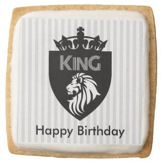 Customizable King Shortbread Cookies
