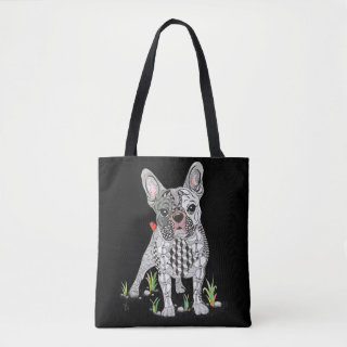 Cute and Adorable French Bulldog Tote Bag