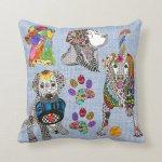 Cute And Color Labrador Retriever Throw Pillow Zazzle Com