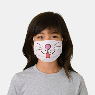 Cute Animal  Pet Face Kids' Cloth Face Mask