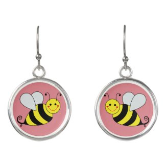 Cute Bumble Bee Earrings