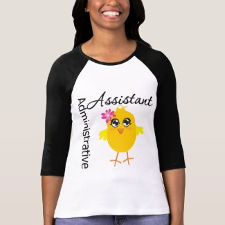 Cute Career Chick Administrative Assistant shirt