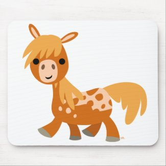 Cute Cartoon Appaloosa Pony mousepad mousepad