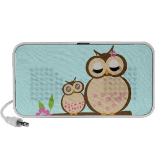 Cute cartoon Owls Speaker