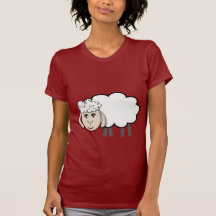 Cute cartoon sheep tees